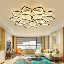 NEO Gleam New Acrylic Modern <b>Led ceiling Chandelier lights</b> For ...