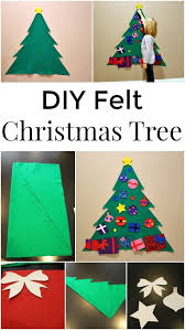 <b>DIY Felt Christmas</b> Tree - a great holiday <b>craft</b> for <b>kids</b> | <b>Diy felt</b> ...