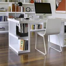 home office computer furniture small space small desk for office tidy bookshelves in white small office acrylic office furniture
