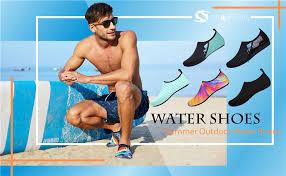 JIASUQI <b>Summer</b> Outdoor Beach Swim Aqua <b>Water Shoes</b> Socks