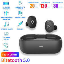 F9 <b>Tws</b> Fingerprint Touch <b>Wireless Earphone Bluetooth</b> 5.0 gaming ...