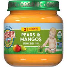 6 Month <b>Stage</b> 2 <b>Baby Food</b> | Earth's Best <b>Organic</b> Infant Foods