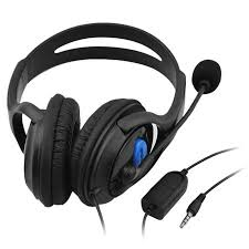 3.5mm <b>Wired</b> Gaming <b>Headset</b> Stereo <b>Bass Earphone</b> with Mic ...