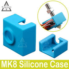 <b>MK8</b>/MK9 <b>Assembled Extruder Hot</b> End silicone sock for Anet A8 ...