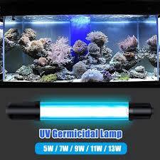 5W/<b>7W</b>/9W/<b>11W</b>/13W 220V EU Plug Aquarium <b>Submersible UV</b> ...