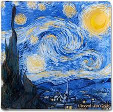 <b>Тарелка</b> Carmani <b>Звездная ночь</b>, CAR198-7310, 13 х 13 см