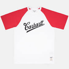<b>Футболка Carhartt S/S</b> Strike White/Chili – купить в интернет ...