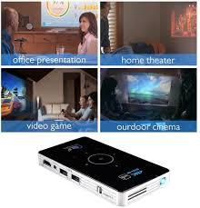 Android Smart DLP Mini Projector,4K LED 1080P WiFi ... - Amazon.com