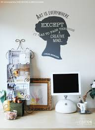 wall art and wall quote vinyl wall decals wallternatives amazing wall quotes office