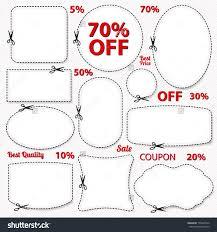 vector set coupon labels banner stock vector 158267564 vector set coupon labels banner tag white template vector