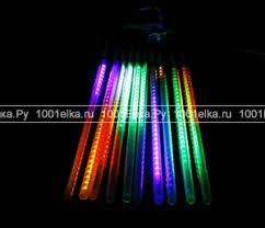 """<b>Комплект</b> светодиодных гирлянд LED """"<b>Тающие</b> сосульки"""" 10 шт ..."""