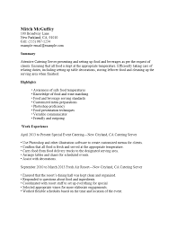 professional server resume template free server resume templates