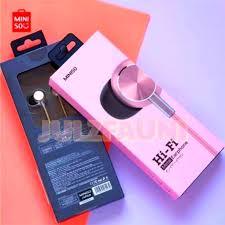 <b>HI FI METAL EARPHONES</b> by Miniso   WITH MIC EARPHONE ...