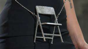 The Most Glamorous Bedazzled <b>Folding</b> Chairs Made a Debut at ...