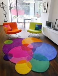 colourful round rug colorful home decor wwwloveitsomuchcom bright colorful home