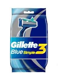Shop <b>Gillette Blue Simple3</b> Disposable Razors online in Dubai, Abu ...