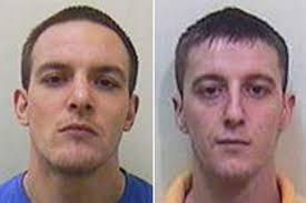 Liam Aherne, 24, and Stephen Rees, 32, walked out of open prison and tried to rob a shop, car-jack a vehicle, attack a takeaway owner and break into a house - liam-aherne
