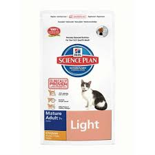 How to <b>Hill's Science Plan Feline</b> Mature Adult Light Chicken 5kg ...