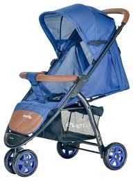 Купить <b>прогулочная коляска Everflo Racing</b> E-460 Blue, цены в ...