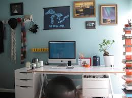 foxy images of modern imac computer desk design and decoration foxy image of home office blue office decor