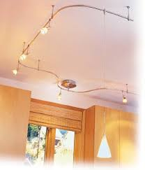 Kitchen Track Lighting Fixtures Track Lighting Fixtures Use Flexible Track Lighting When