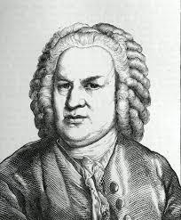 """Dieses Porträt von Johann Sebastian Bach stammt aus dem Buch """"Zweihundert deutsche Männer"""", herausgegeben von Ludwig Bechstein, Leipzig 1854. - johann_sebastian_bach"""