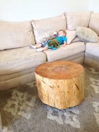 image of round tree stump coffee table awesome tree trunk table 1
