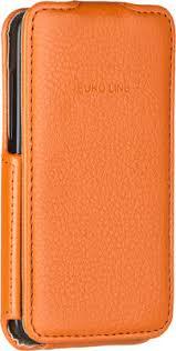 Купить <b>Флип</b>-<b>кейс</b> Euro-Line Vivid для Explay Easy Bit оранжевый ...