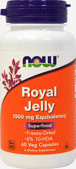 <b>Royal Jelly 1500 mg</b> 60 Capsules | Royal Jelly Supplements ...