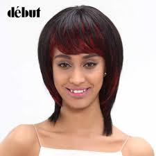 <b>Debut</b> Hair Brazilian Straight <b>Remy Hair</b> Short Bob <b>Wigs</b> Human ...