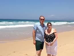 nadine landry stephen sammy lind sammy and val at the warrawong beach