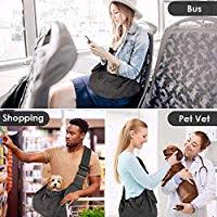 AutoWT Padded Dog Sling, Dog Papoose Puppy Cat <b>Pet Carrier</b> ...
