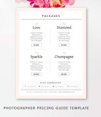 invoice template photography invoice business invoice receipt photography pricing guide photography sell sheet photoshop template instant