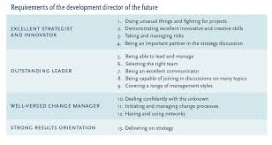 the chief r d officer of the future spencer stuart in those four areas there are 13 core competencies that will make an excellent r d leader