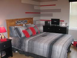 roms boy cool visual charming bedroom ideas red