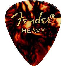 <b>Медиатор Fender Classic Shell</b> Heavy
