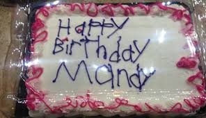 Decorated Birthday Cakes Photo Of Birthday Cake Decorated At Michigan Grocery Store Goes
