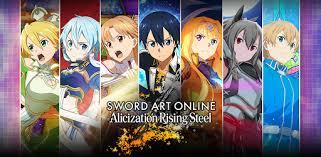 Sword Art Online Alicization Rising Steel - Apps on Google Play