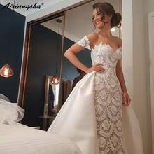 Compare prices on Short <b>Wedding</b> Dress with Detachable Train ...