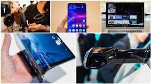 """#CES19 Phần 2: điện thoại gập cong lại, Huawei Mate 20X 7.2"""", Lg ..."""