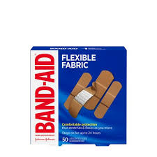 BAND-AID® <b>Flexible</b> Fabric <b>Adhesive Bandages</b>, Family Pack ...