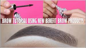 <b>Eyebrow</b> Tutorial (<b>NEW Benefit</b> Cosmetics <b>Brow</b> Products) - YouTube
