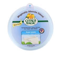 Отзывы Citrus Magic, <b>Твердый освежитель воздуха</b>, <b>Чистый</b> лен ...