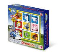 Домино Robocar Poli + 18 <b>мини</b>-<b>пазлов</b>: купить в интернет ...