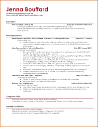 how to make college resume college resume 2017 make new