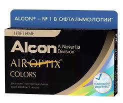 <b>Alcon Air</b> Optix Colors 30тидневные <b>контактные линзы</b> D 14.2/R ...
