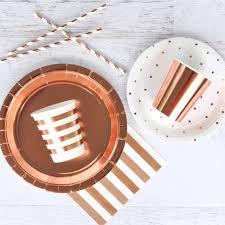 <b>Rose Gold</b> Party Supplies Dessert Appetizer cups <b>Disposable</b> ...