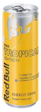 Купить <b>Напиток энергетический Red Bull</b> Tropical Edition, 355 мл ...