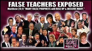 FALSE TEACHERS LIST | FALSE PROPHETS EXPOSED
