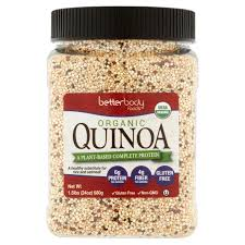 neighborhood market w cermak rd chicago il  betterbody foods organic quinoa
